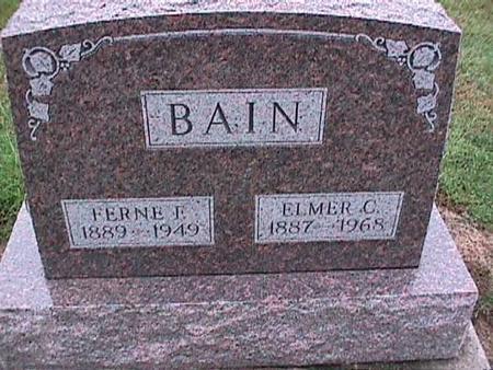 BAIN, FERNE - Washington County, Iowa | FERNE BAIN