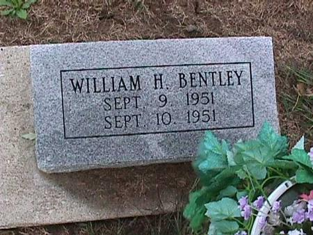 BENTLEY, WILLIAM - Washington County, Iowa | WILLIAM BENTLEY