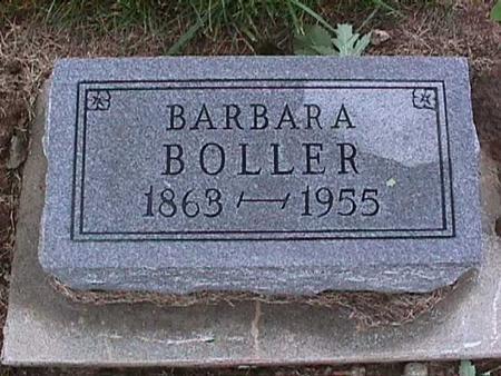 BOLLER, BARBARA - Washington County, Iowa | BARBARA BOLLER