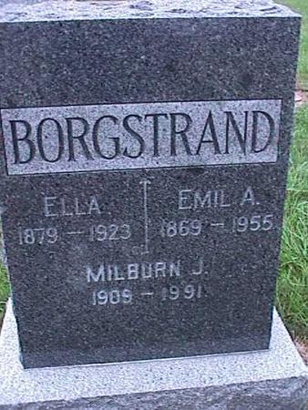 BORGSTRAND, ELLA - Washington County, Iowa | ELLA BORGSTRAND