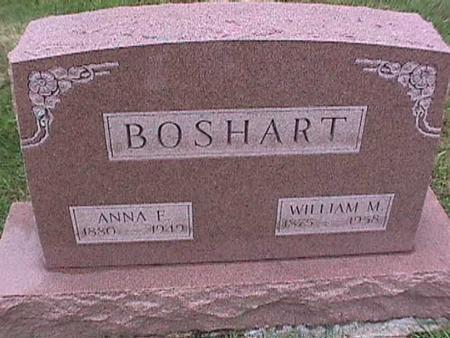 BOSHART, WILLIAM - Washington County, Iowa | WILLIAM BOSHART