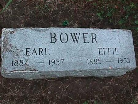 BOWER, EFFIE - Washington County, Iowa | EFFIE BOWER