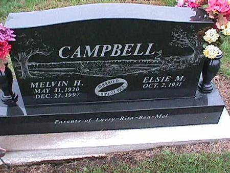 CAMPBELL, ELSIE - Washington County, Iowa | ELSIE CAMPBELL