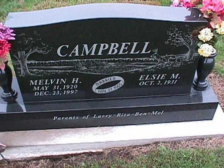 CAMPBELL, MELVIN - Washington County, Iowa | MELVIN CAMPBELL