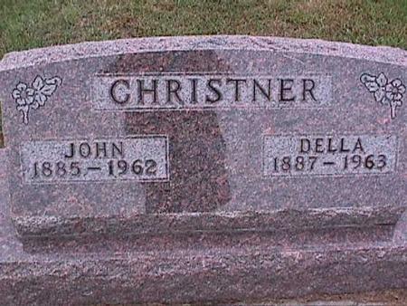 CHRISTNER, DELLA - Washington County, Iowa | DELLA CHRISTNER