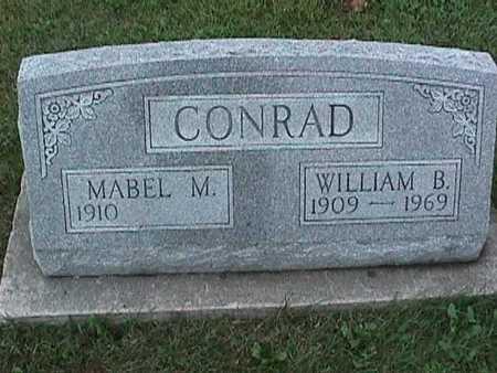 CONRAD, WILLIAM - Washington County, Iowa | WILLIAM CONRAD