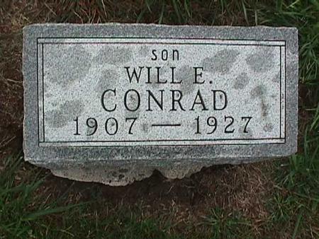 CONRAD, WILL - Washington County, Iowa   WILL CONRAD