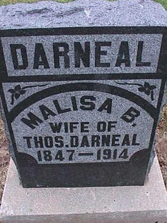 DARNEAL, MALISA B. - Washington County, Iowa   MALISA B. DARNEAL