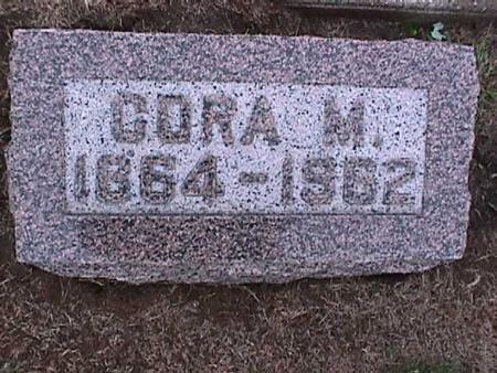 DAVIS, CORA - Washington County, Iowa | CORA DAVIS