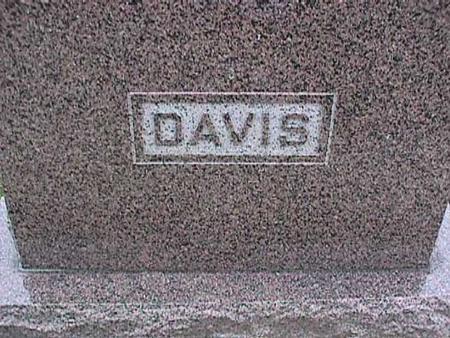 DAVIS, FAMILY - Washington County, Iowa | FAMILY DAVIS