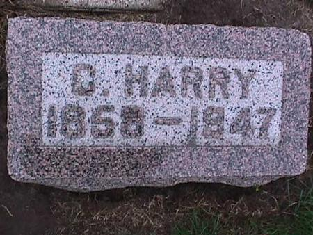 DAVIS, C. HARRY - Washington County, Iowa | C. HARRY DAVIS