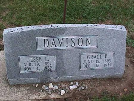 DAVISON, GRACE - Washington County, Iowa | GRACE DAVISON