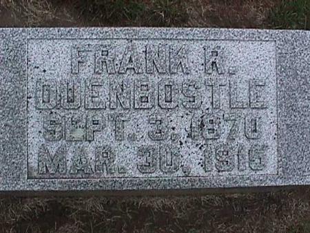 DUENBOSTLE, FRANK - Washington County, Iowa | FRANK DUENBOSTLE