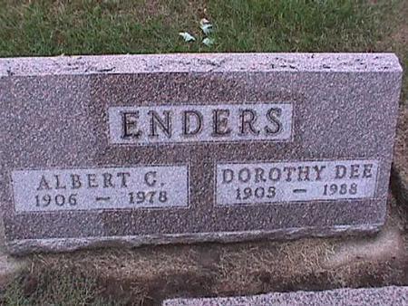 ENDERS, DOROTHY - Washington County, Iowa | DOROTHY ENDERS