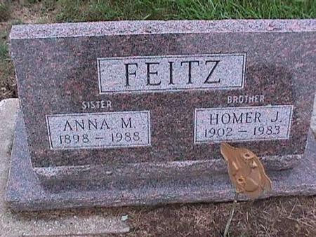 FEITZ, HOMER - Washington County, Iowa | HOMER FEITZ
