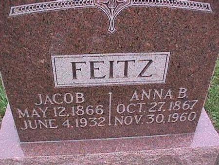 FEITZ, JACOB - Washington County, Iowa | JACOB FEITZ