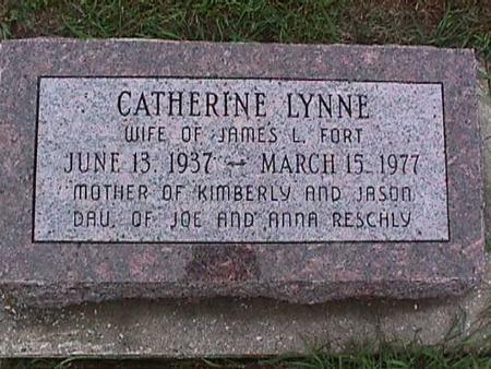 FORT, CATHERINE - Washington County, Iowa | CATHERINE FORT