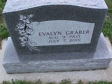 GRABER, EVALYN - Washington County, Iowa   EVALYN GRABER