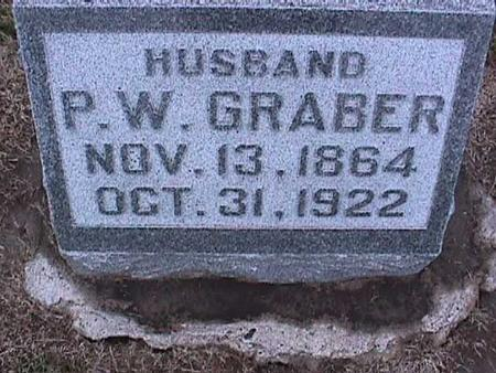GRABER, P. W. - Washington County, Iowa | P. W. GRABER