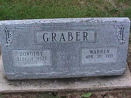 GRABER, WARREN - Washington County, Iowa | WARREN GRABER
