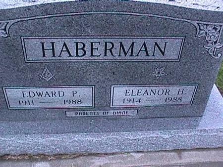HABERMAN, EDWARD - Washington County, Iowa   EDWARD HABERMAN