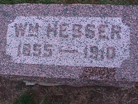 HESSER, WILLIAM - Washington County, Iowa   WILLIAM HESSER