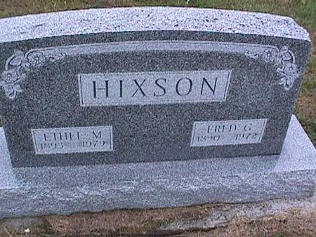 HIXSON, FRED - Washington County, Iowa | FRED HIXSON