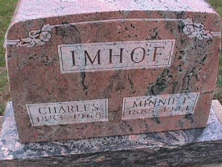 IMHOF, CHARLES - Washington County, Iowa | CHARLES IMHOF