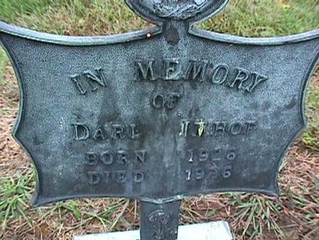 IMHOF, DARL - Washington County, Iowa   DARL IMHOF