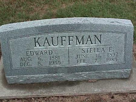 KAUFFMAN, STELLA - Washington County, Iowa | STELLA KAUFFMAN