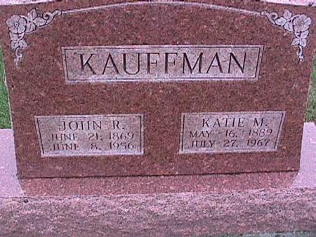 KAUFFMAN, JOHN - Washington County, Iowa | JOHN KAUFFMAN