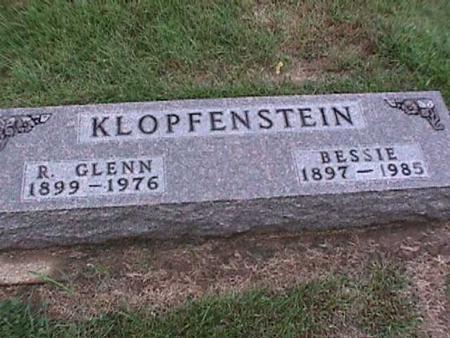 KLOPFENSTEIN, R. GLENN - Washington County, Iowa   R. GLENN KLOPFENSTEIN