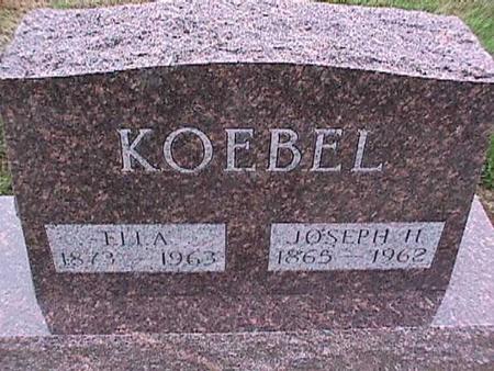 KOEBEL, JOSEPH - Washington County, Iowa   JOSEPH KOEBEL