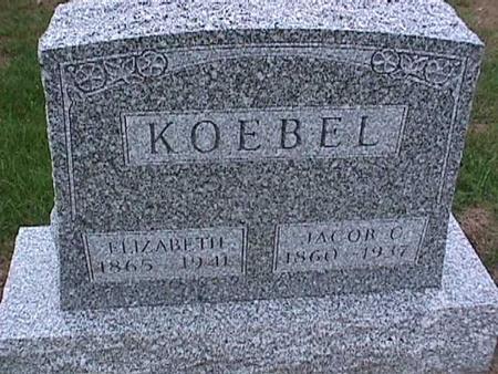 KOEBEL, JACOB - Washington County, Iowa   JACOB KOEBEL