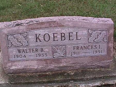 KOEBEL, WALTER - Washington County, Iowa | WALTER KOEBEL