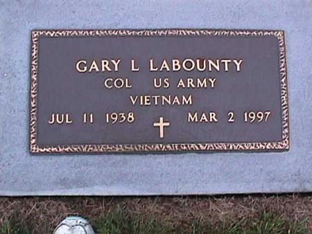 LABOUNTY, GARY - Washington County, Iowa | GARY LABOUNTY