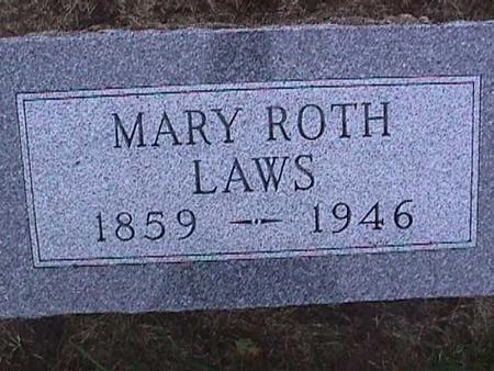 LAWS, MARY - Washington County, Iowa | MARY LAWS