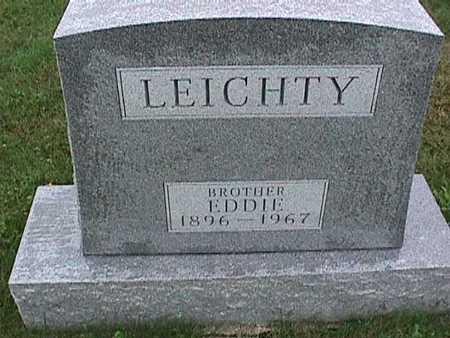 LEICHTY, EDDIE - Washington County, Iowa | EDDIE LEICHTY