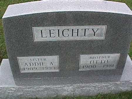 LEICHTY, ADDIE - Washington County, Iowa   ADDIE LEICHTY