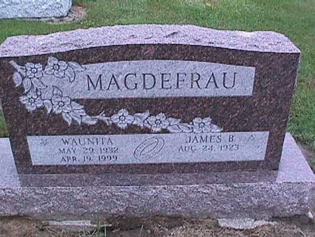 MAGDEFRAU, WAUNITA - Washington County, Iowa | WAUNITA MAGDEFRAU