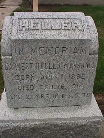 MARSHALL, EARNEST HELLER - Washington County, Iowa | EARNEST HELLER MARSHALL