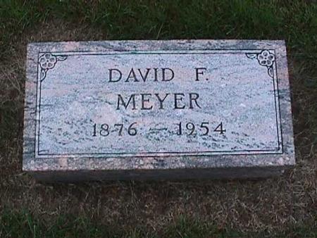 MEYER, DAVID - Washington County, Iowa   DAVID MEYER