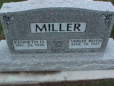 MILLER, VERLEE - Washington County, Iowa | VERLEE MILLER