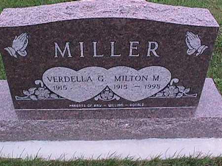 MILLER, MILTON - Washington County, Iowa | MILTON MILLER