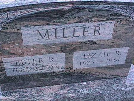 MILLER, ELIZABETH - Washington County, Iowa | ELIZABETH MILLER