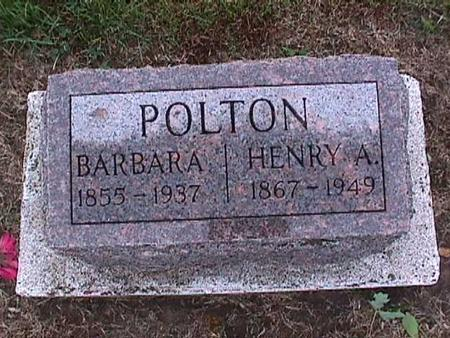POLTON, HENRY - Washington County, Iowa | HENRY POLTON