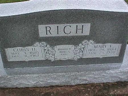 RICH, CHRIS - Washington County, Iowa   CHRIS RICH