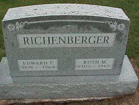 RICHENBERGER, RUTH - Washington County, Iowa | RUTH RICHENBERGER