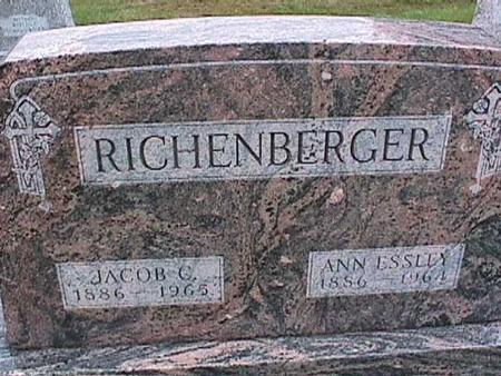 RICHENBERGER, JACOB - Washington County, Iowa | JACOB RICHENBERGER
