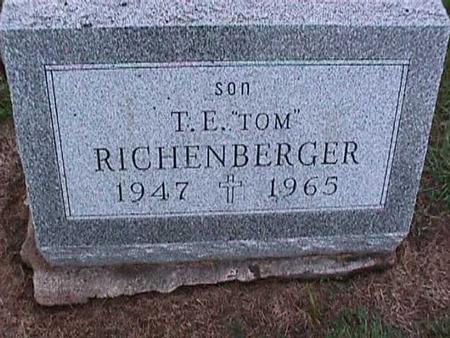 RICHENBERGER, T. E.